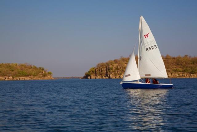 Lotri Bay, Lake Kariba, Zambia - Sailing