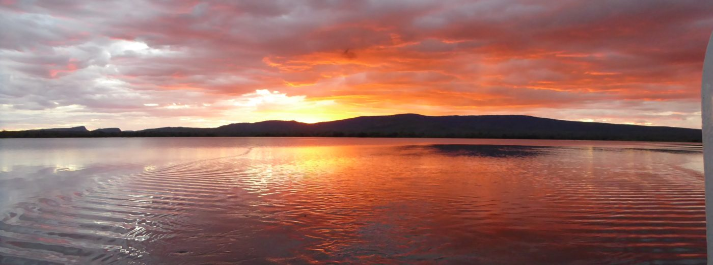 Lotri Bay, Lake Kariba, Zambia - Sunset Cruise
