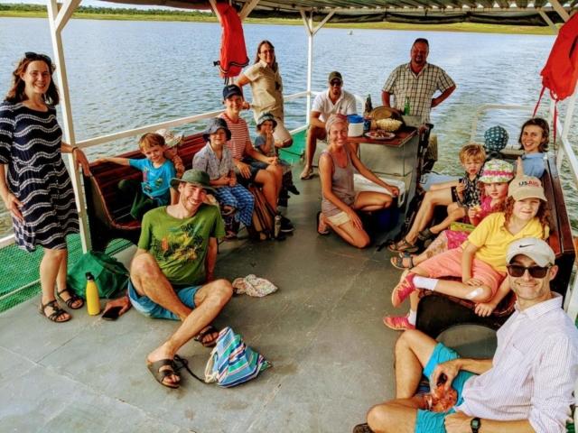 Lotri Bay, Lake Kariba, Zambia - Sunset Cruise