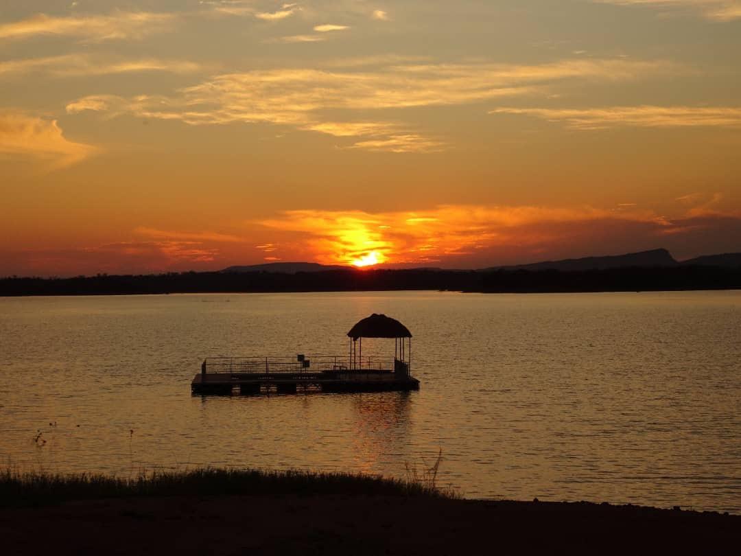 Lotri Bay, Lake Kariba, Zambia - Sunset, Lake Pool