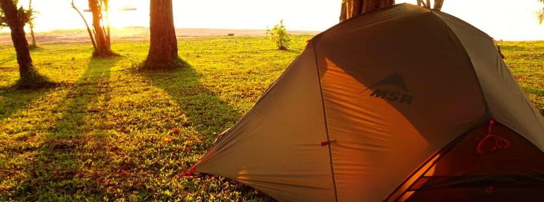 Lotri Bay, Lake Kariba, Zambia - Campsite