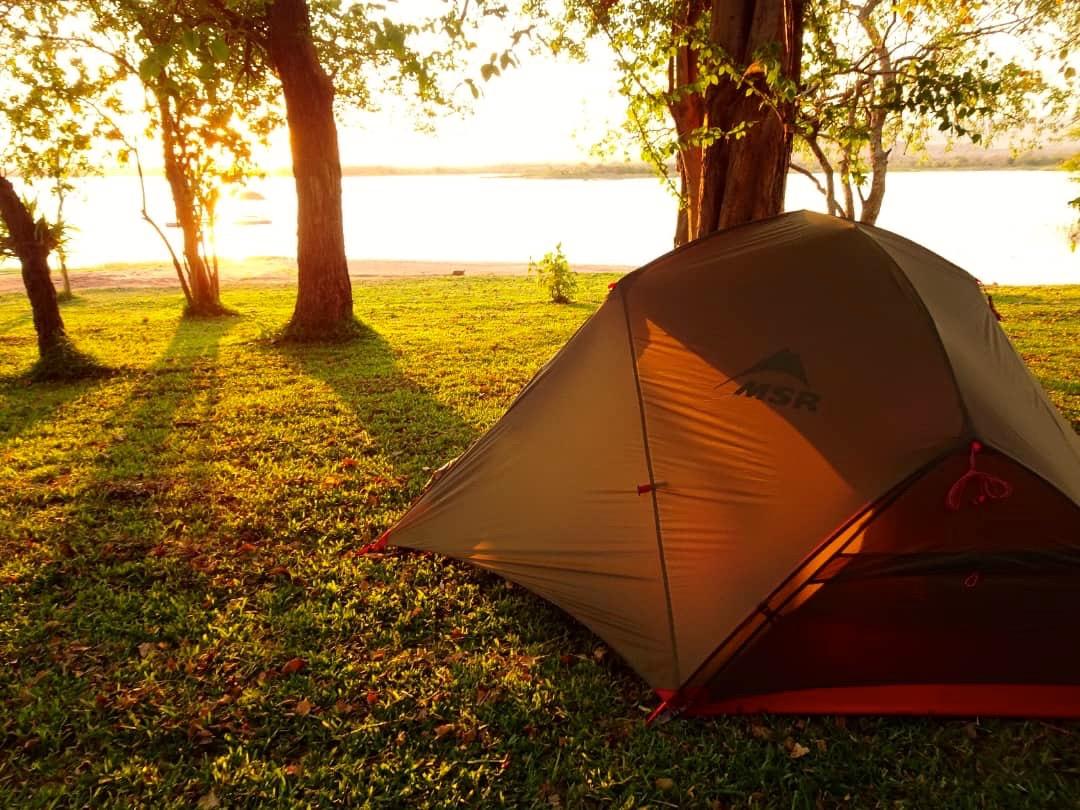 Lotri Bay, Lake Kariba, Zambia - Camping