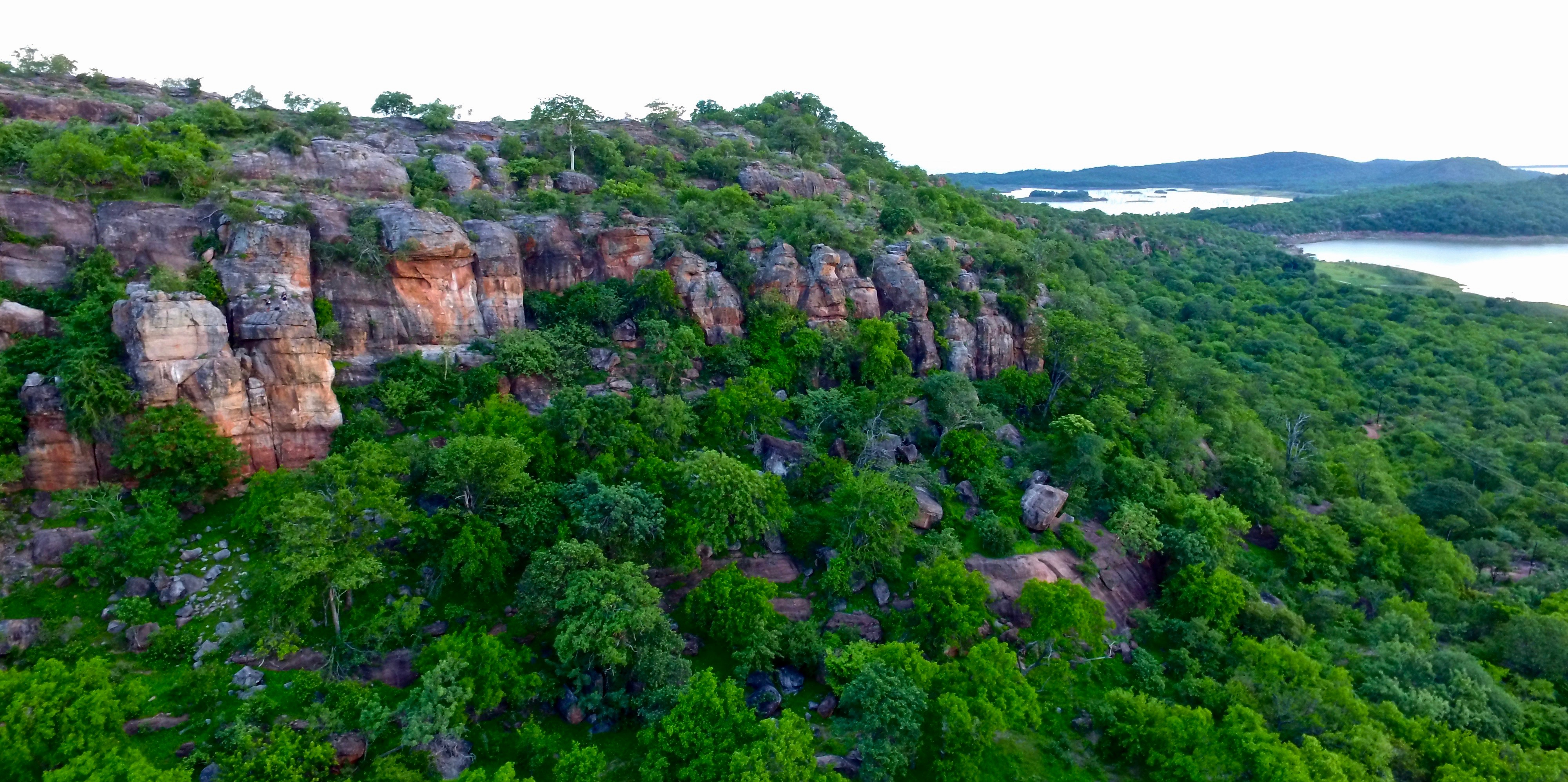 Lotri Bay, Lake Kariba, Zambia - Rock Climbing